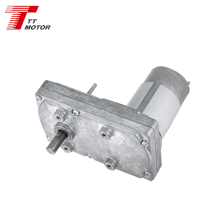 GM100F-555PM 12v 24v dc worm gear motor 50N.m rated torque 555PM dc motor