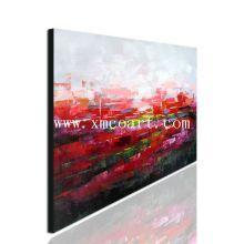 Peinture à l'huile abstraite sur toile pour décoration (New-554)