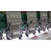 Flat / Sequin / Cording / Chenille / Chain Embroidery Machine
