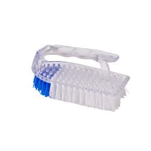 Customized Color Kitchen Plastic Handheld Silicone Hand Scrub Brush