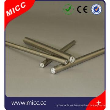 Tipo k Cable de MI con aislamiento mineral