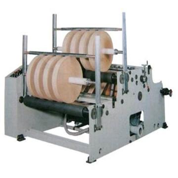Kraft Paper Rolls rebobinamento máquina de corte