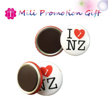 New Arrival Round 44mm4c Prints Promotion Gift Tin Badge Soft Magnets