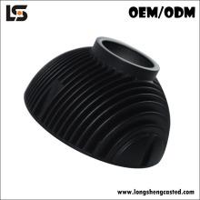 OEM алюминиевый теплоотвод цилиндрический теплоотвод заливки формы Сид раковина для ламп