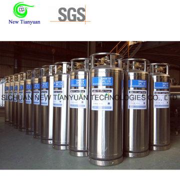 Vertical Liquid Nitrogen Medium Welded Cylinder Tanker