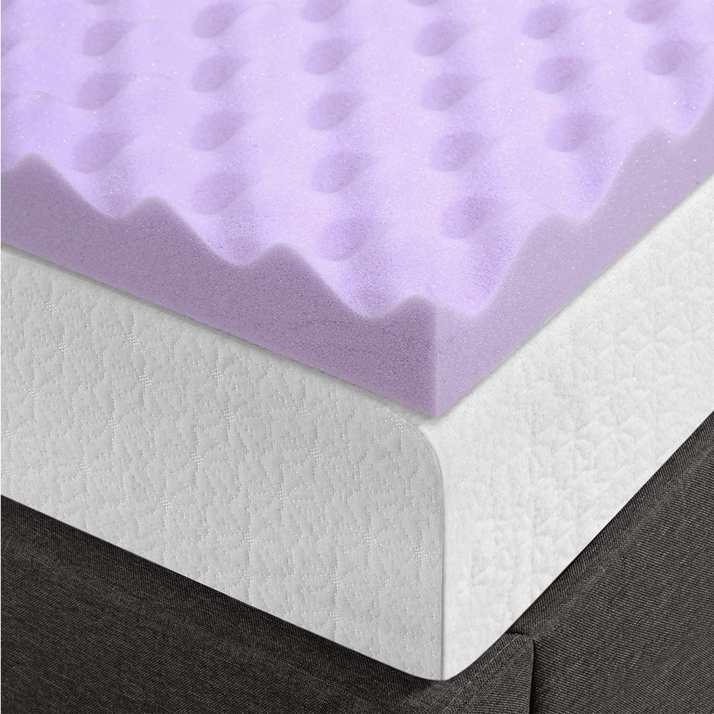 Memory Foam Mattress Topper 2 Inch Queen