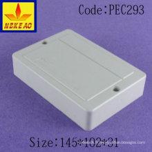 Boîte de distribution boîte de jonction à montage en surface boîte de jonction électrique boîtier en plastique sur rail din boîtier en plastique personnalisé scellé E