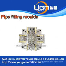 High quality good price plastic mould factory for standard size PPR plastic fitting moulds in taizhou China