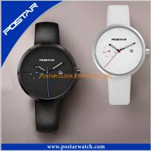 Vogue extra-plana relógio de quartzo impermeável preço de fábrica