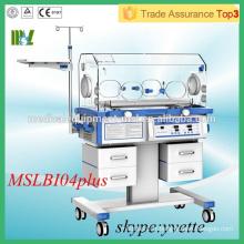 Incubateur infantile à équipement médical de qualité supérieure (MSLBI04plus)