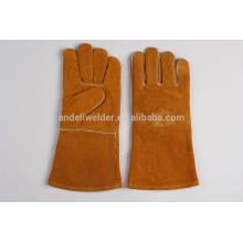 Gants de soudure économique A1 47cm vache split gants de soudage en cuir