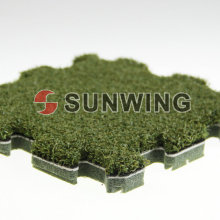 Artificial Grass Puzzle Mat Tile For Golf Field DIY