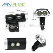 La mejor fábrica de precio barato USB recargable Bell bicicleta luz