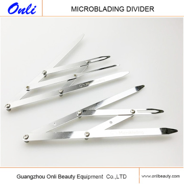 Golden Ratio Divider for Eyebrow Microblading Tattoo Design