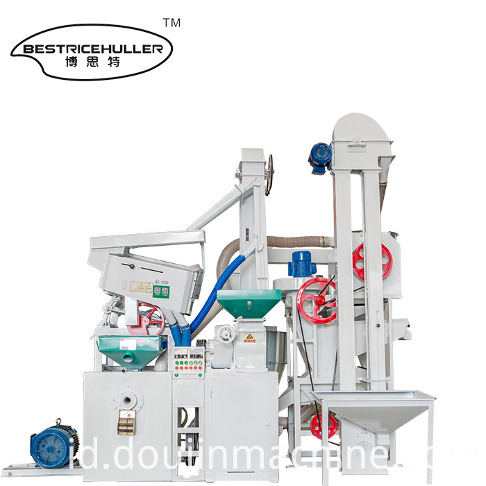 Rice Hulling Combination Rice Machine