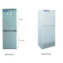 Biobase -40 congélateur vertical à basse température centré avec 253L 450L