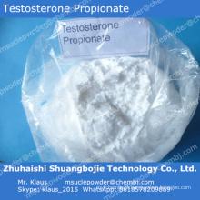 Propionate esteróide / 57-85-2 da testosterona do pó de Effpective Suppply da fábrica