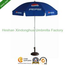 Guarda-chuva de praia de sol ao ar livre de 2m com revestimento UV para exibição (BU-0040)