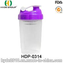 500ml Customized BPA Free Spider Shaker Bottle, Plastic Shaker Bottle (HDP-0314)