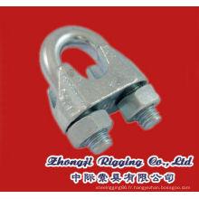 DIN741 Câble malléable Clip