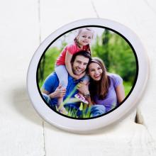 sublimação em branco Caneca Coaster Ceramic Round