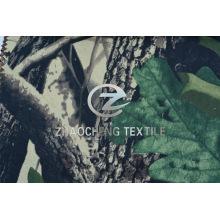 Forest Camouflage Printing Tissu en coton pour gilet (ZCBP259)