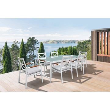Tabela de jantar SGS Tested Outdoor Furniture