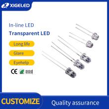 In-line LED lamp beads straw hat lighting led