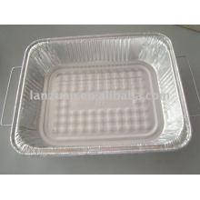 envase del papel de aluminio