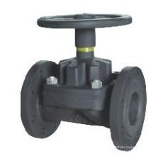 Válvula de diafragma tipo Weir de ferro fundido