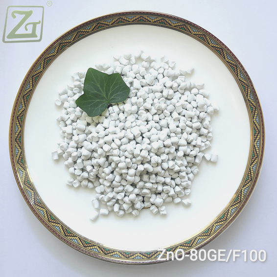 White Granule Activator and Pigment Master-batch ZnO