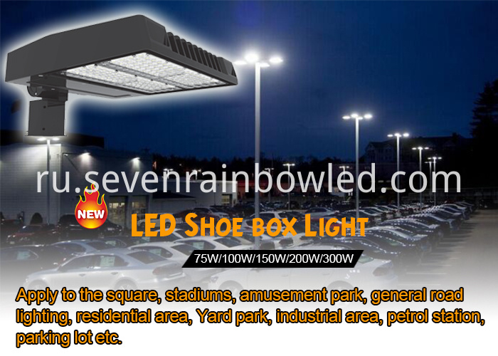100W Parking Lot Led Area Lighting