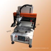 Pequena máquina automática de impressão de plástico de seda