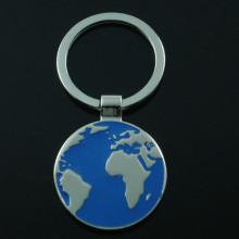 Рекламный логотип Логотип Premium Metal Europe Map Key Chain (F1253)