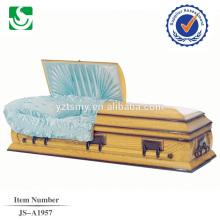 Chinês produziram caixão de madeira de alta qualidade do estilo americano de boas-vindas