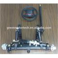 Light load vehicle steel front suspension system
