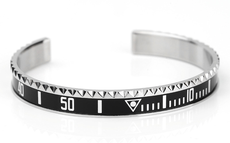 mens stainless steel cuff bracelets