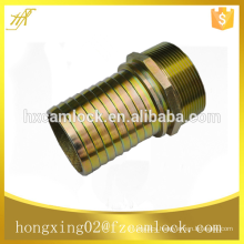 Galvanized steel hexagonal king combination nipple, kc nipple