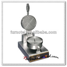K499 1 Head Rotary Electric Stainless Waffle Maker