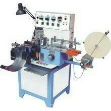 Máquina de corte e dobragem ultra-sónica de etiquetas
