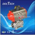 Aço inoxidável válvula de esfera com ISO5211 almofada de montagem
