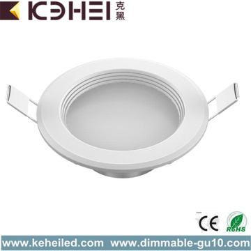 5W Low Power LED Downlights Aluminium eller Plast