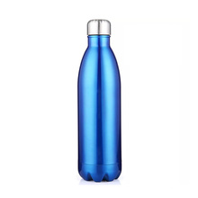 750ML sport 304 stainless steel thermos vacuum flask sealed water bottle
