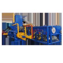 Máquinas de fabricación de briquetas de virutas de acero horizontales