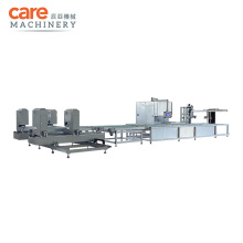 PVC Automatic Window Welder Cleaning Machine Production Line