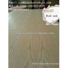 MDR veneer plywood-Red Oak