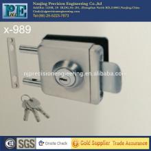Контактная квадратная головка с одним замком стеклянной двери