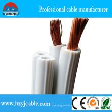 Cable paralelo aislado del PVC de 14 AWG, cable de 18 AWG Spt, alambre de la lámpara de 16 AWG