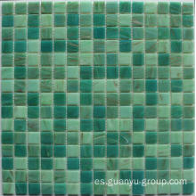 Gold Line Glass Mosaic