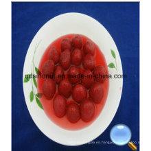 425g de fresa en almíbar